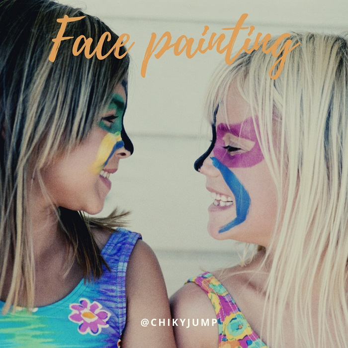facepainting entertainers