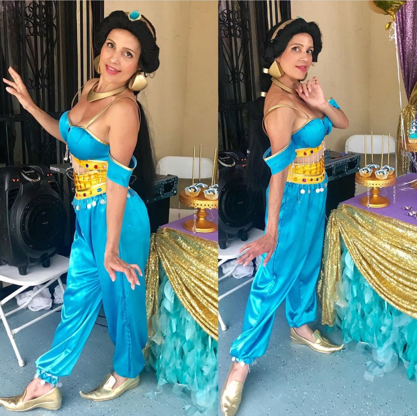 Jasmine Princess Party Character, Party Entertainments