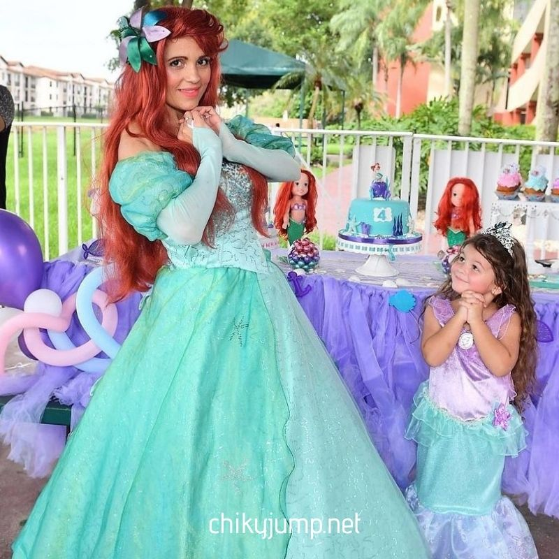 Ariel Princess Party Character