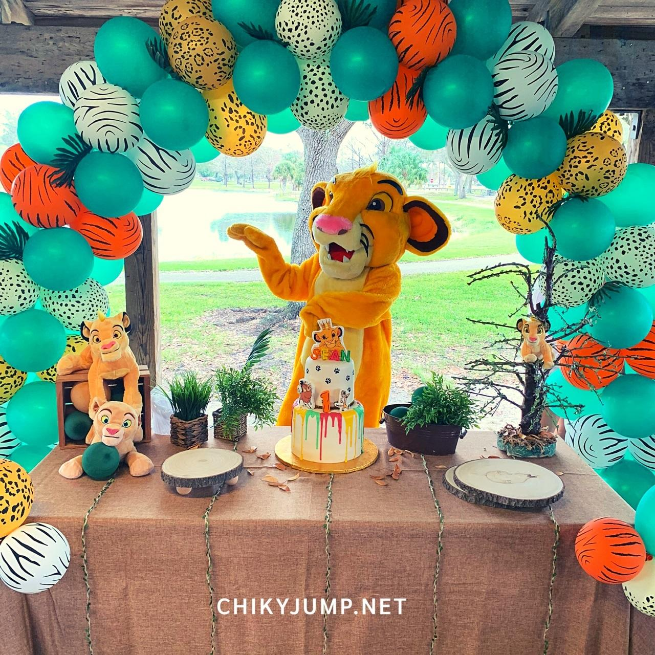 Lion King Birthday Theme, Party Decorations